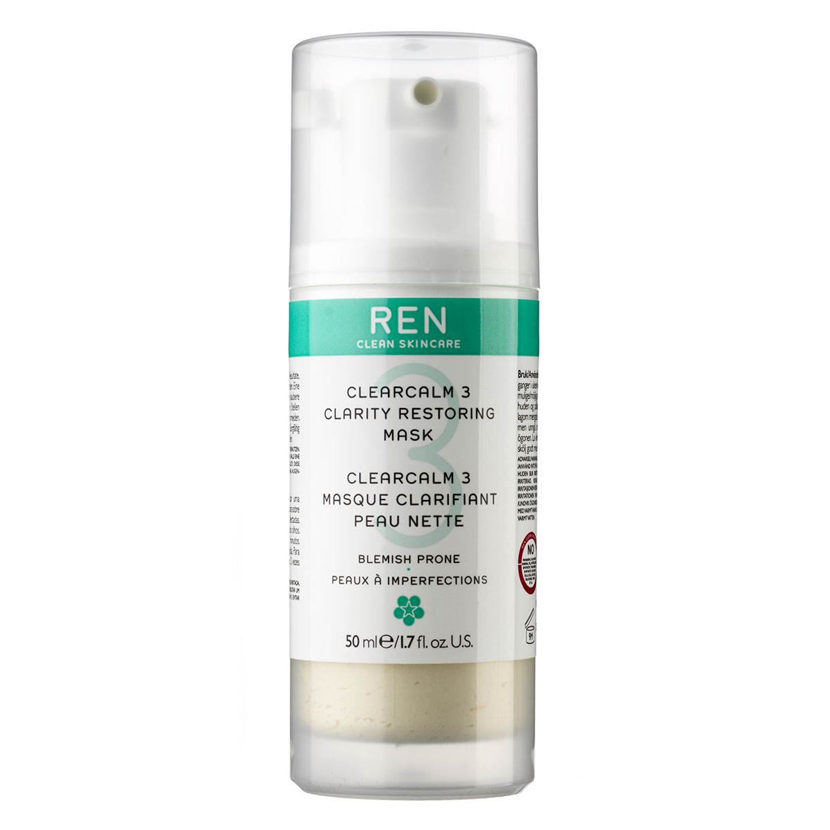 Image of   REN Clarifying Restoring Mask - 50 ml