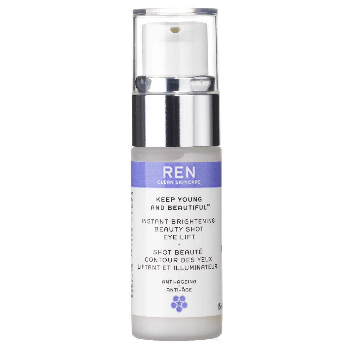 Image of   REN Instant Brightening Beauty Shot Eye Lift - 15 ml