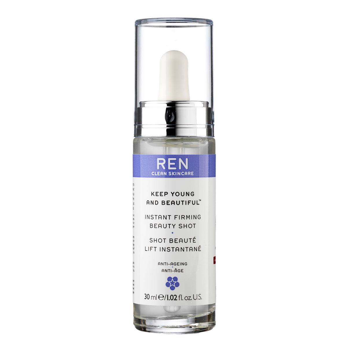 Image of   REN Instant firming Beauty shot serum - 30 ml. Serum og special pleje