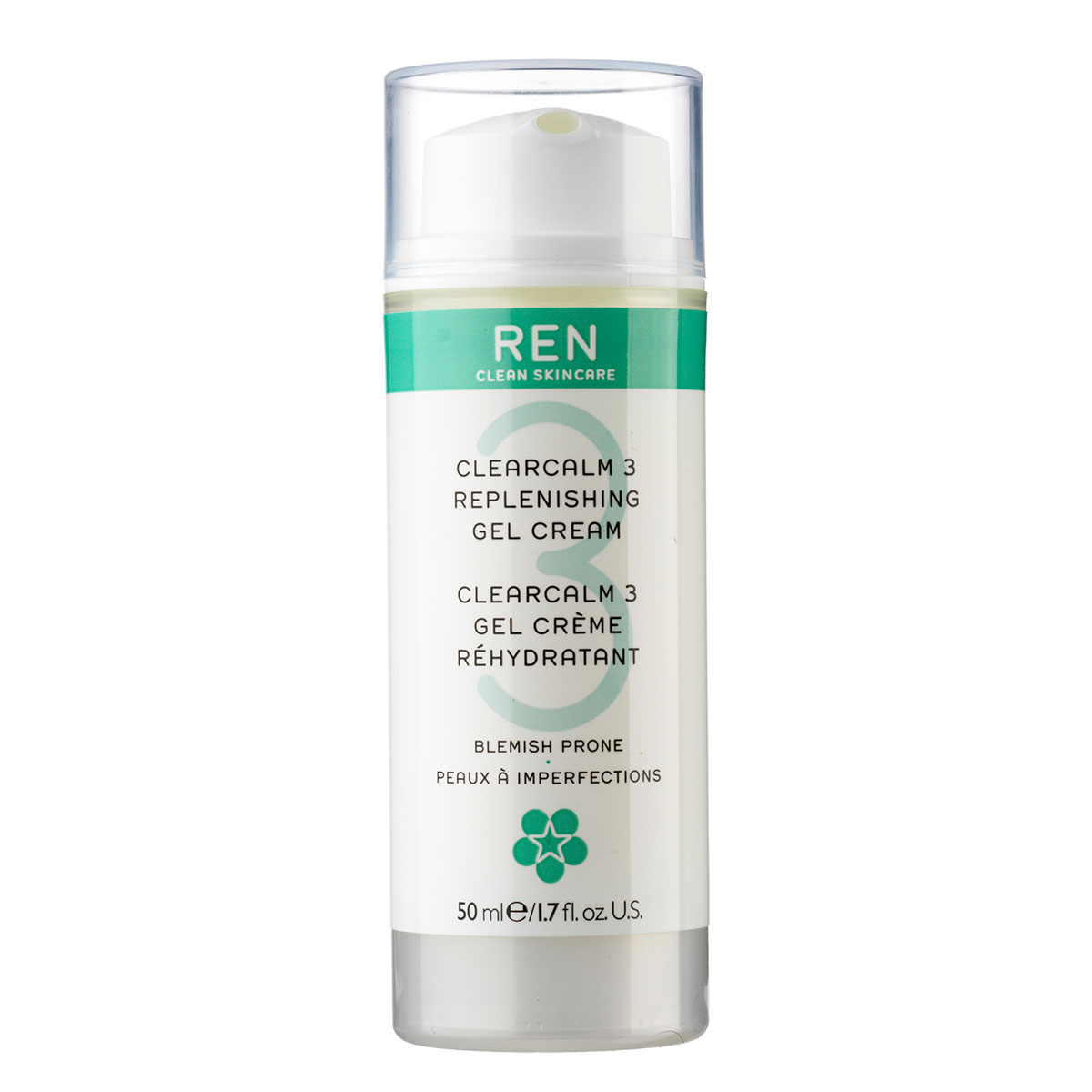 REN Replenishing Gel Cream - 50 ml
