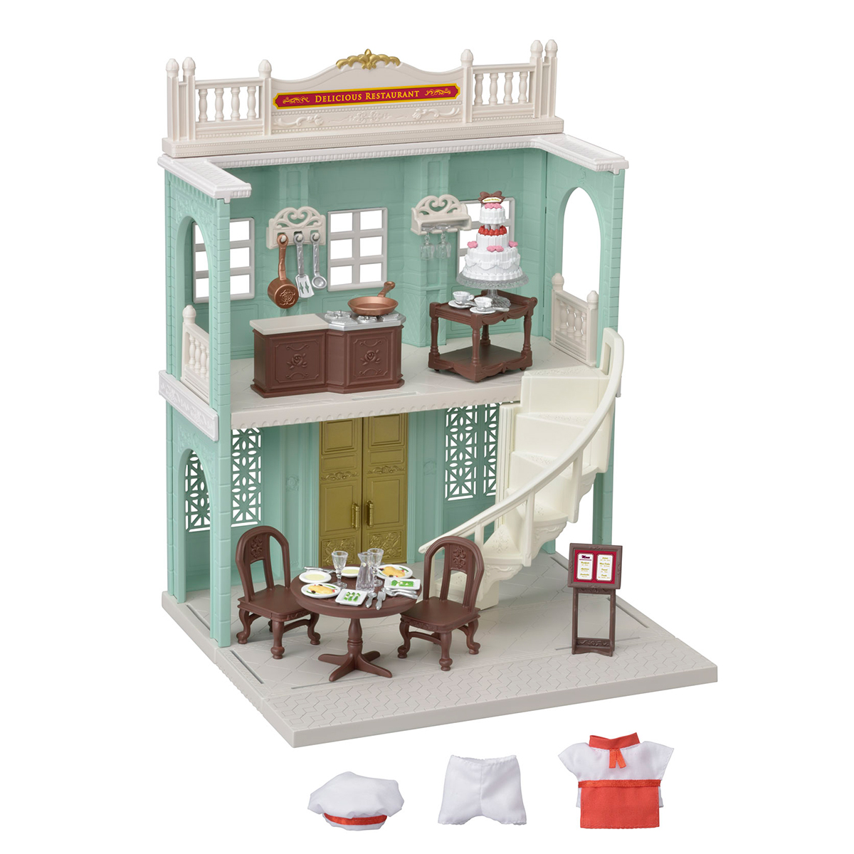 Image of   Restaurant fra Sylvanian Families