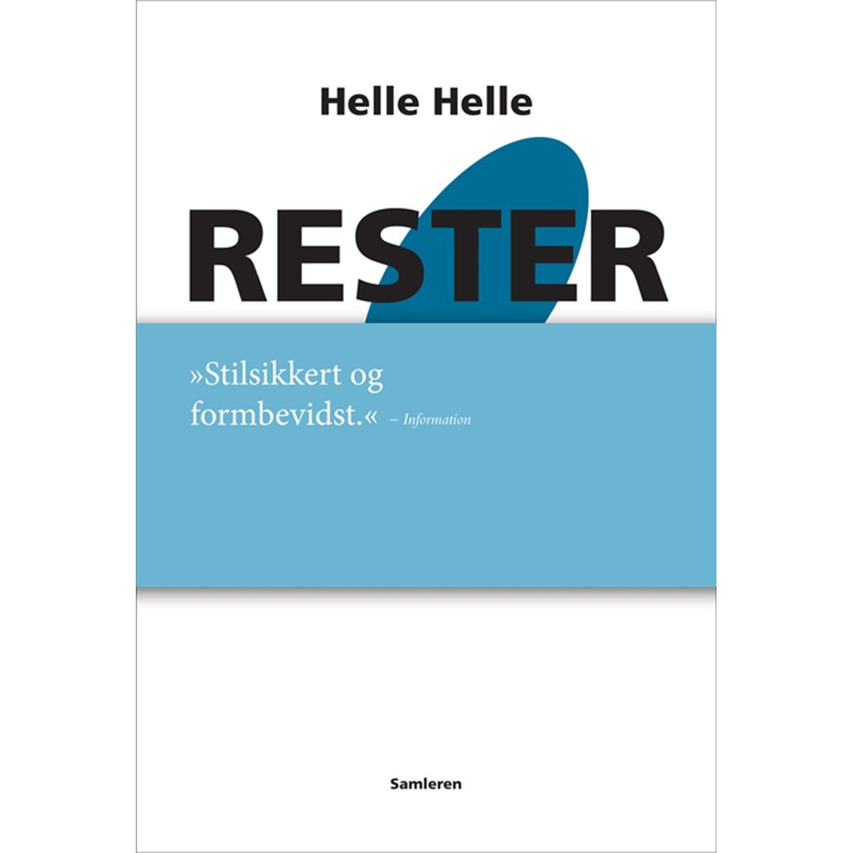 Image of   Rester - Indbundet
