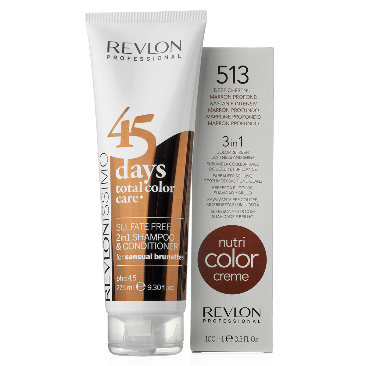 Image of   Revlon The Color Dream Team sæt - 45 Days