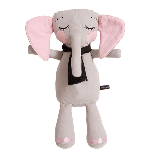 Roommate krammepude - Elefant - Off-White