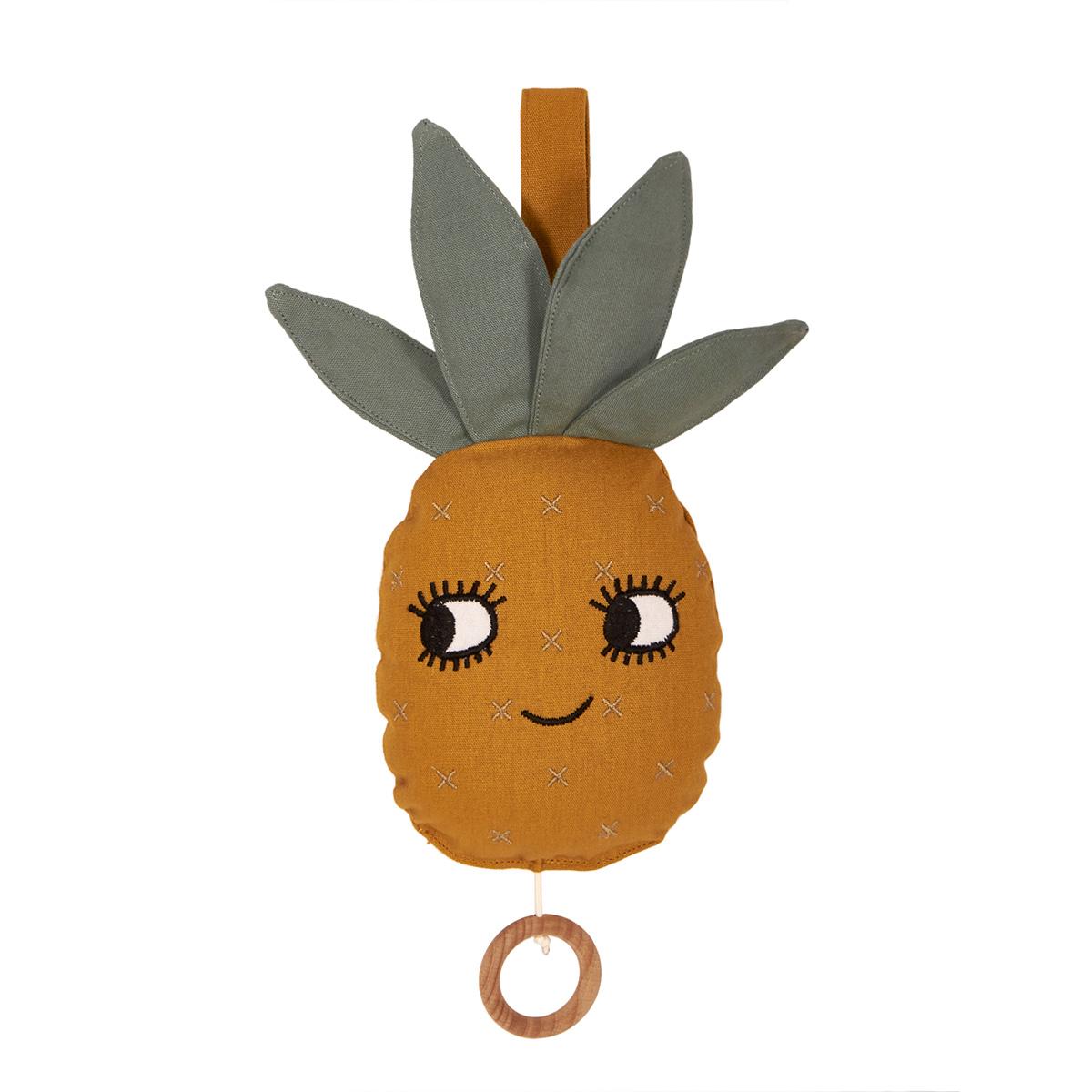 Image of   Roommate uro med musik - Ananas - Orange