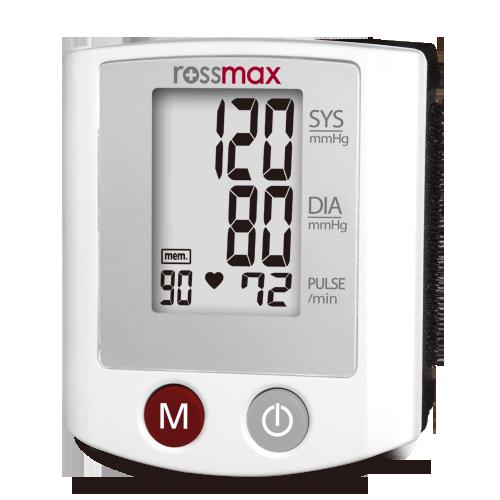 blodtryksmaaler rossmax faa id