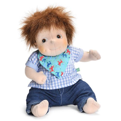 Image of   Rubens Barn dukke - Little Rubens - Lille Emil