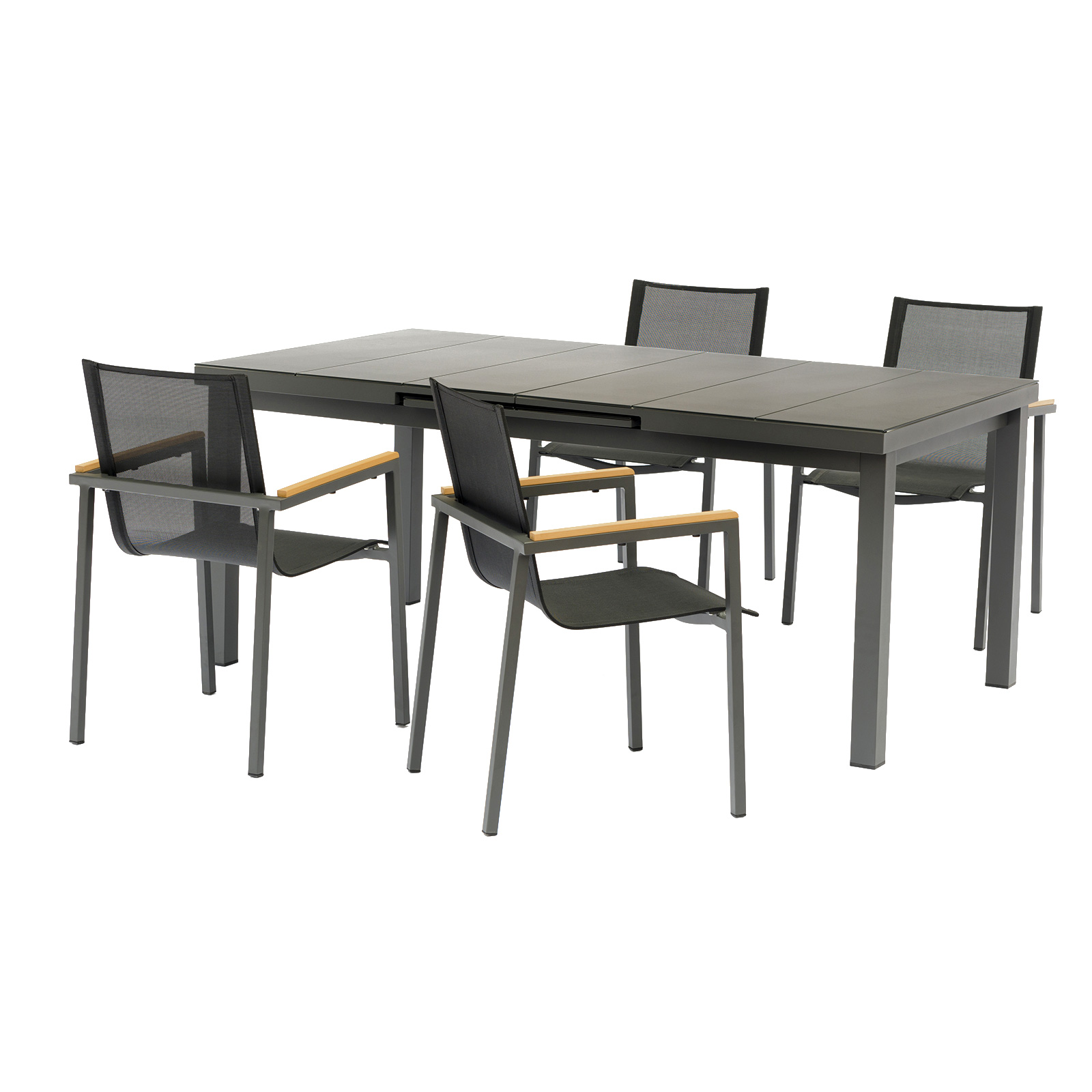 Image of   Safira havemøbelsæt - Antracit