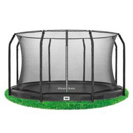 Salta trampolin med net - Excellent Inground - Ø 305 cm