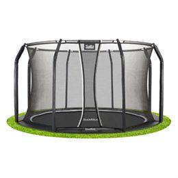 Salta trampolin med net - Royal Baseground Inground - Ø 396 cm