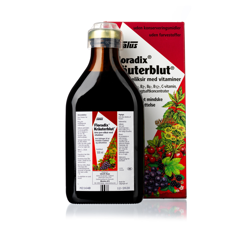 Billede af Salus Floradix Kräuterblut - 500 ml