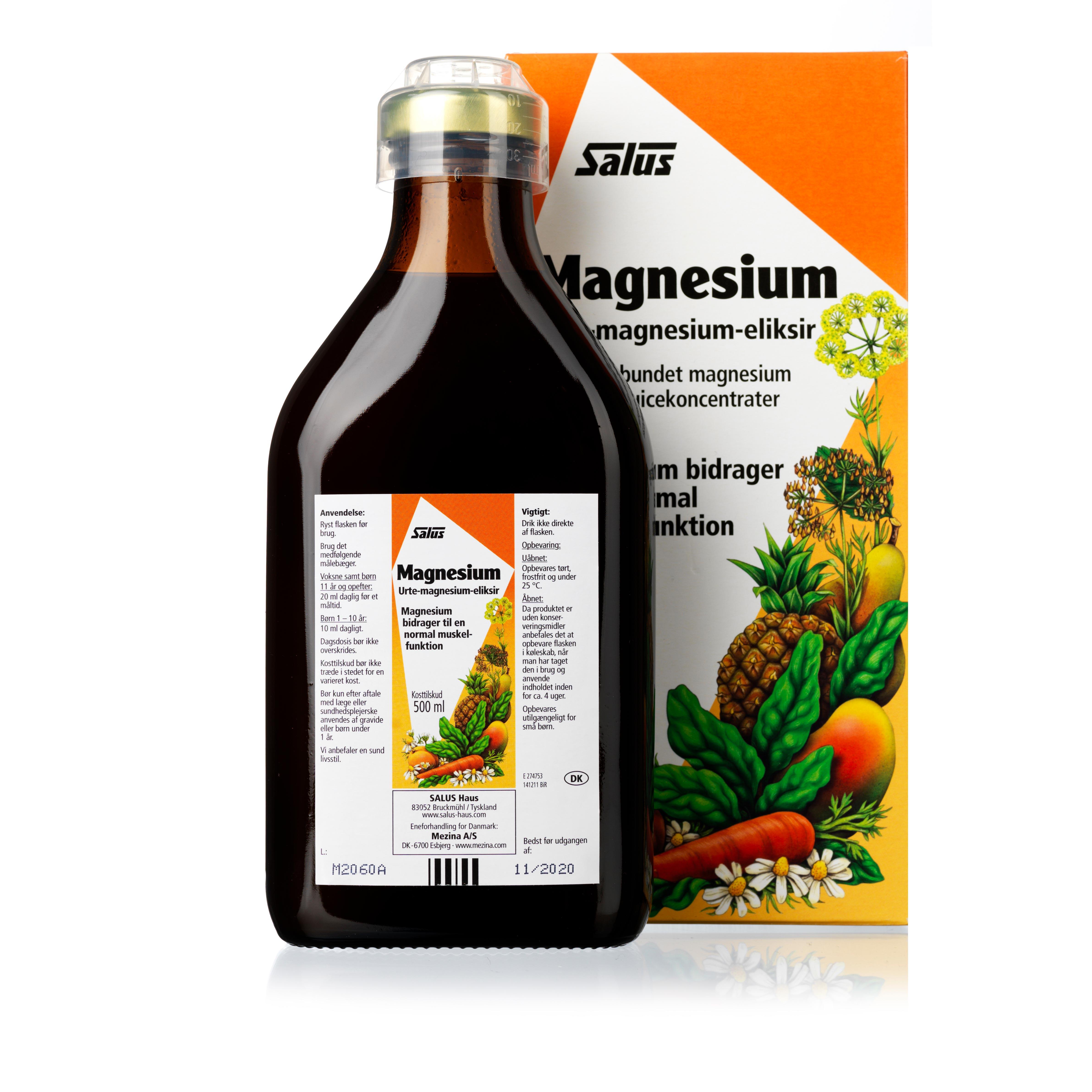 Billede af Salus Magnesium - 500 ml