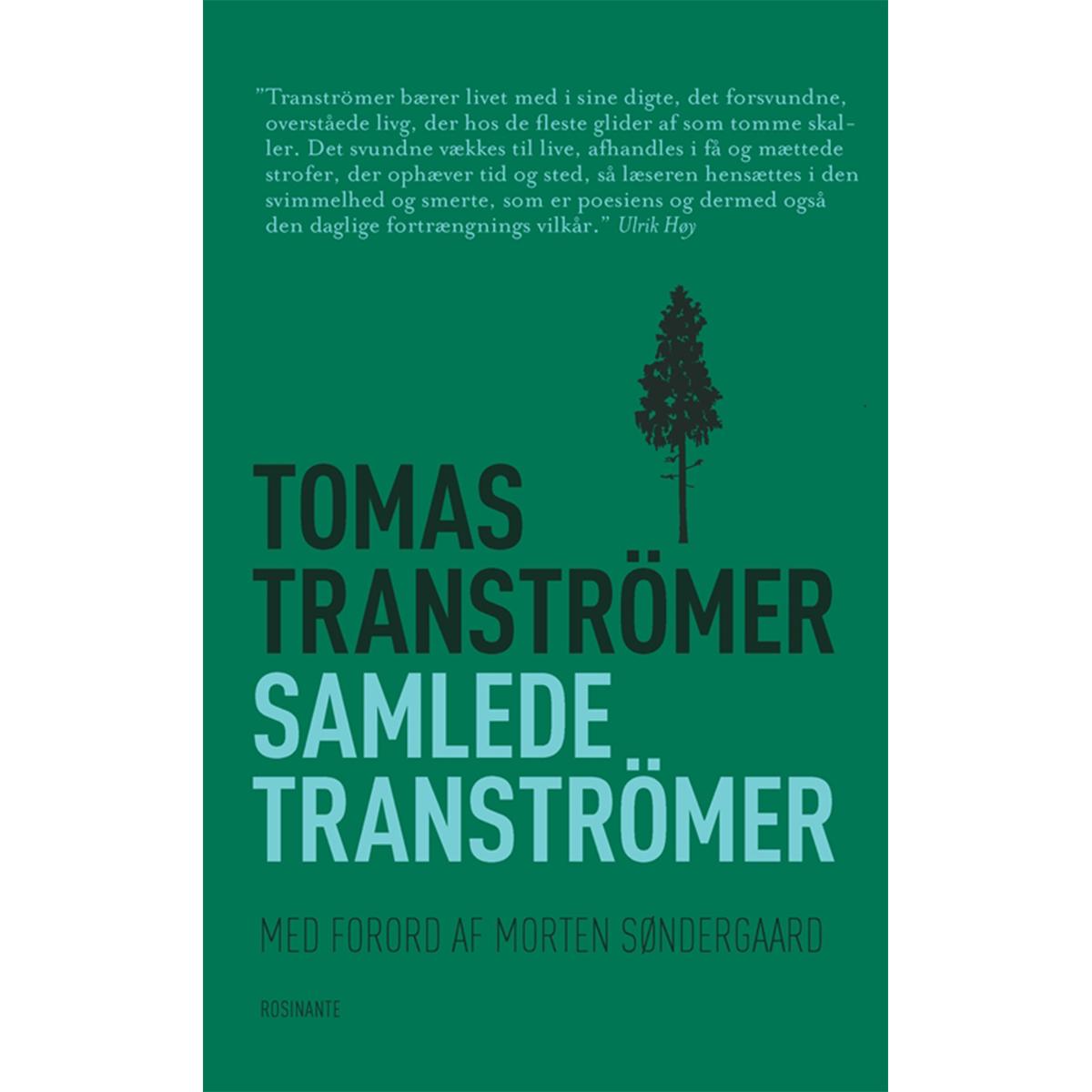 Image of   Samlede Tranströmer - Hæftet