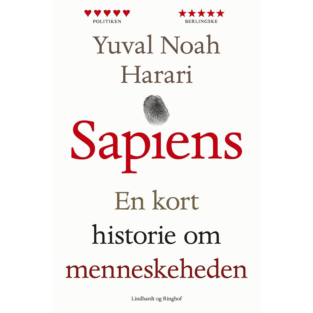 Image of   Sapiens - en kort historie om menneskeheden - Hæftet