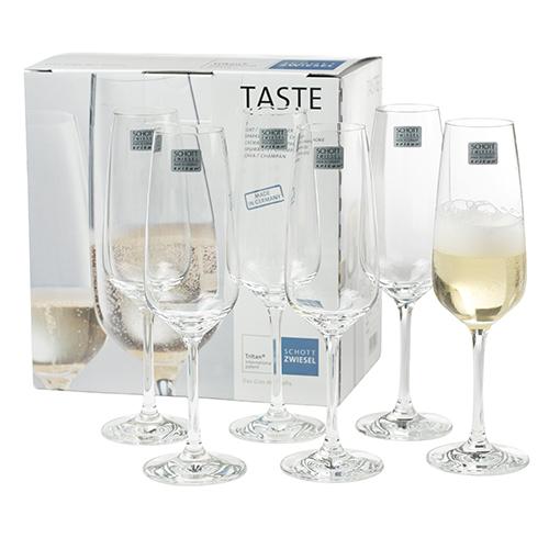 Image of   Schott Zwiesel champagneglas - Taste - 6 stk.