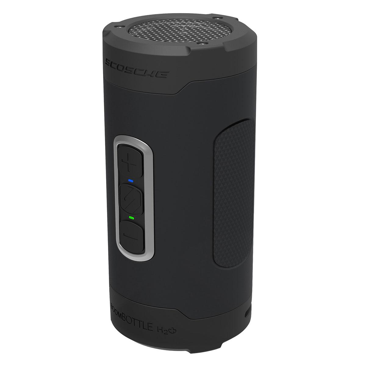 Scosche bluetooth højtaler - Boombottle H2O+ Sort/grå