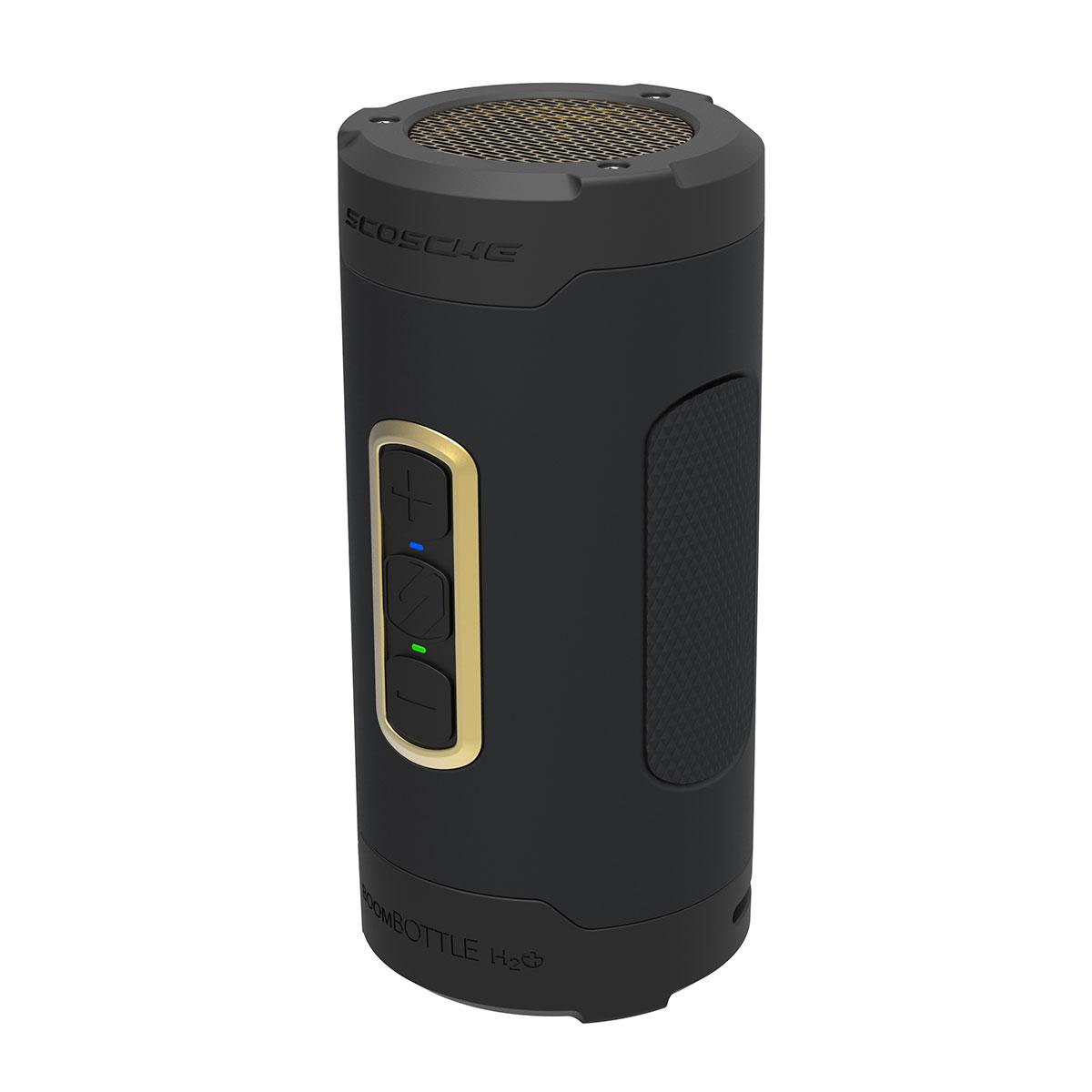 Billede af Scosche bluetooth højtaler - Boombottle H2O+ Sort/guld