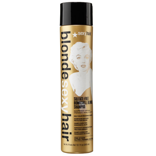 Image of   Sexy Hair Bombshell Blonde Shampoo 300 ml