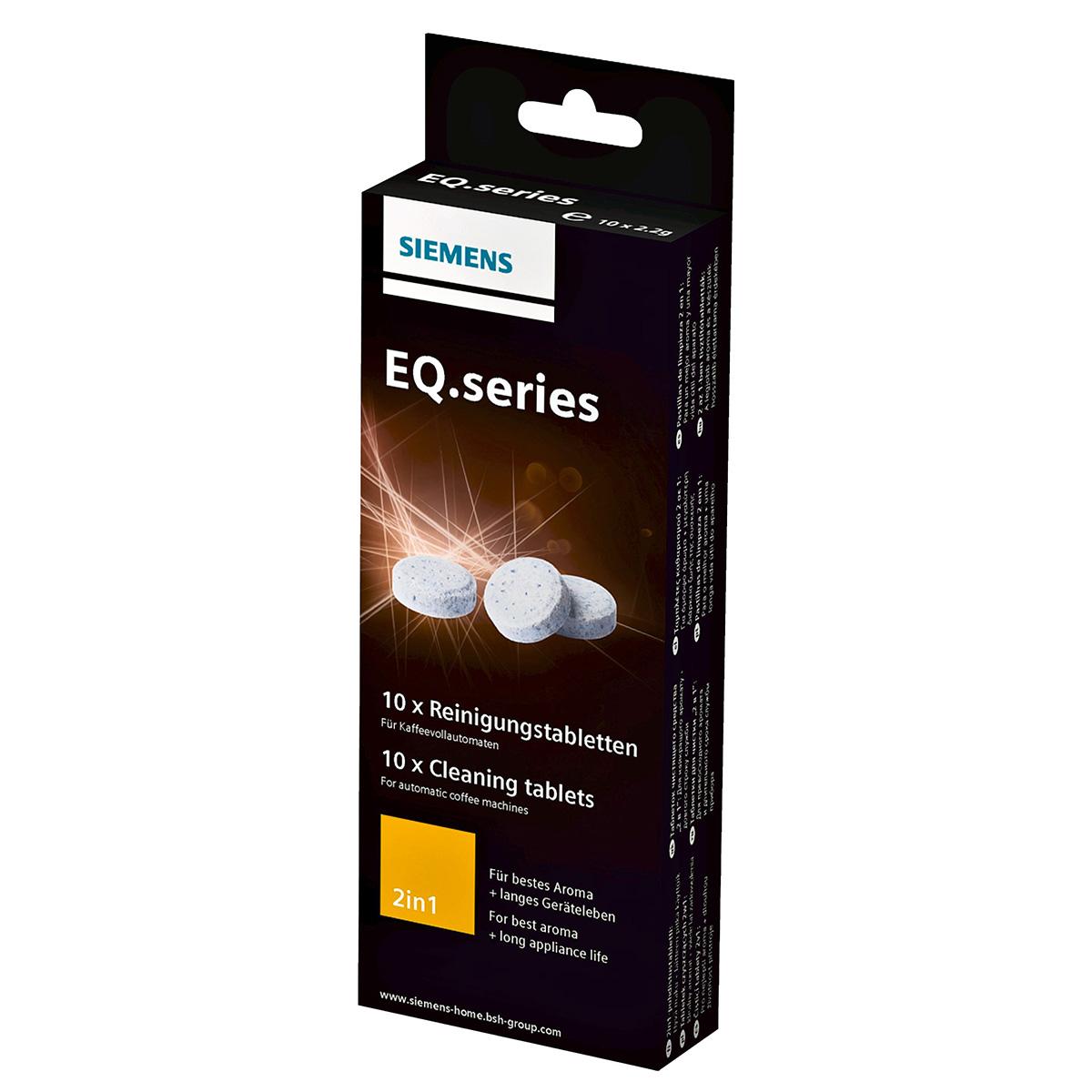 Siemens rengørings- og afkalkningstabletter - EQ.series