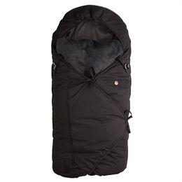 Image of   Sleepbag kørepose - Mini - Sort/grå
