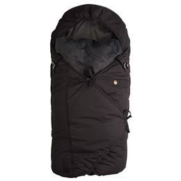 Image of   Sleepbag kørepose - Sort/grå