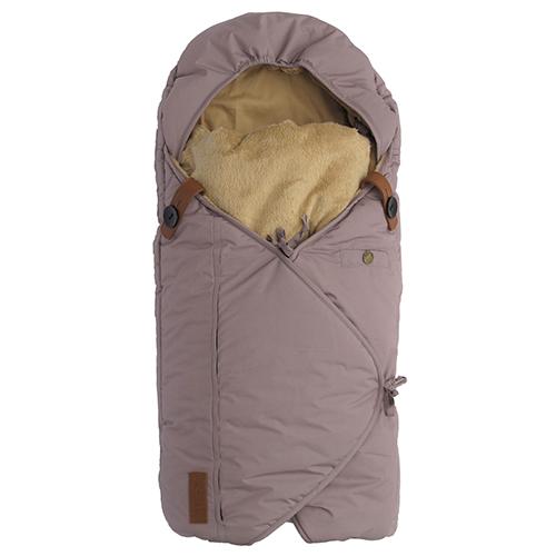 Image of   Sleepbag kørepose - Støvet lilla