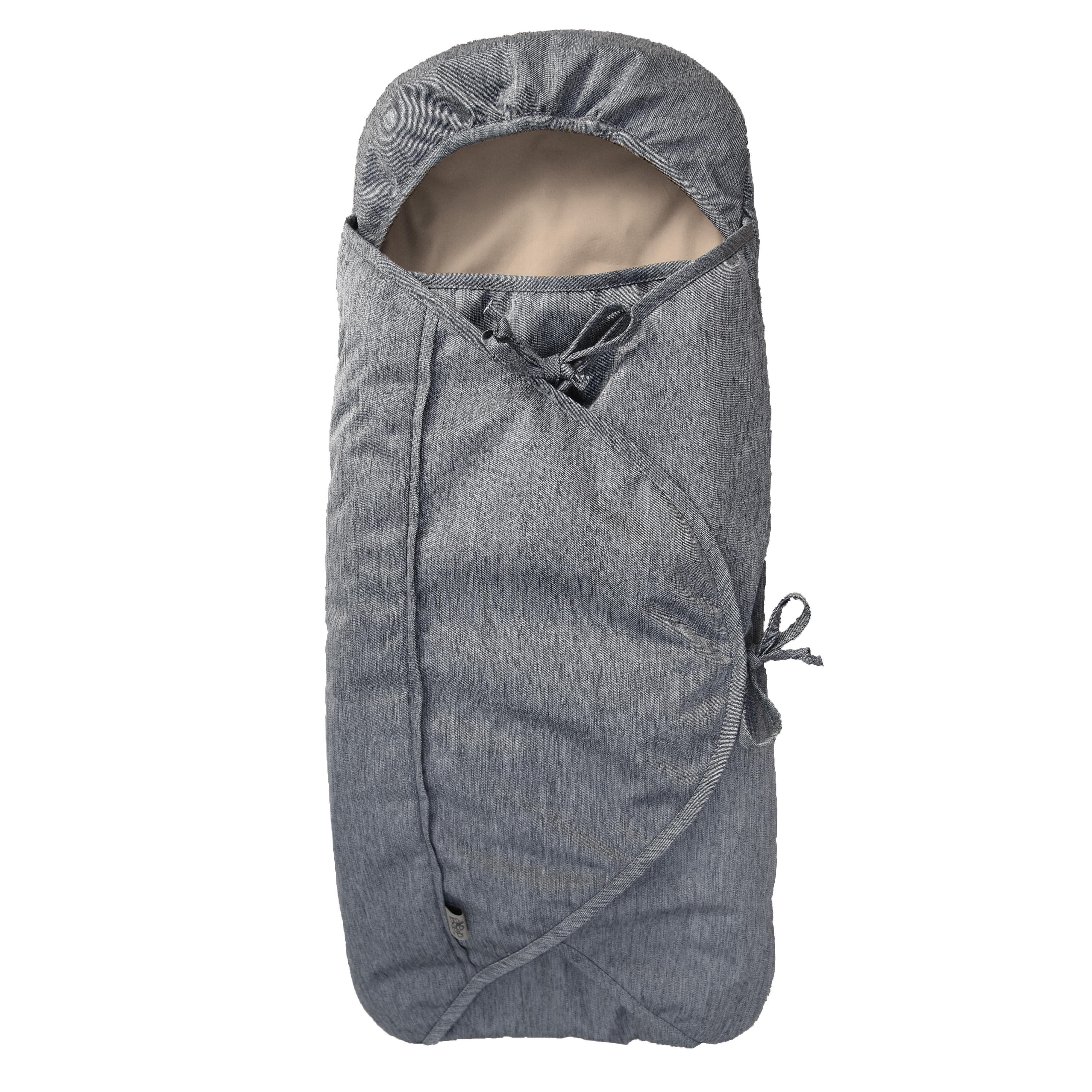 Image of   Sleepbag kørepose til autostolen - Bycar - Grå/brun