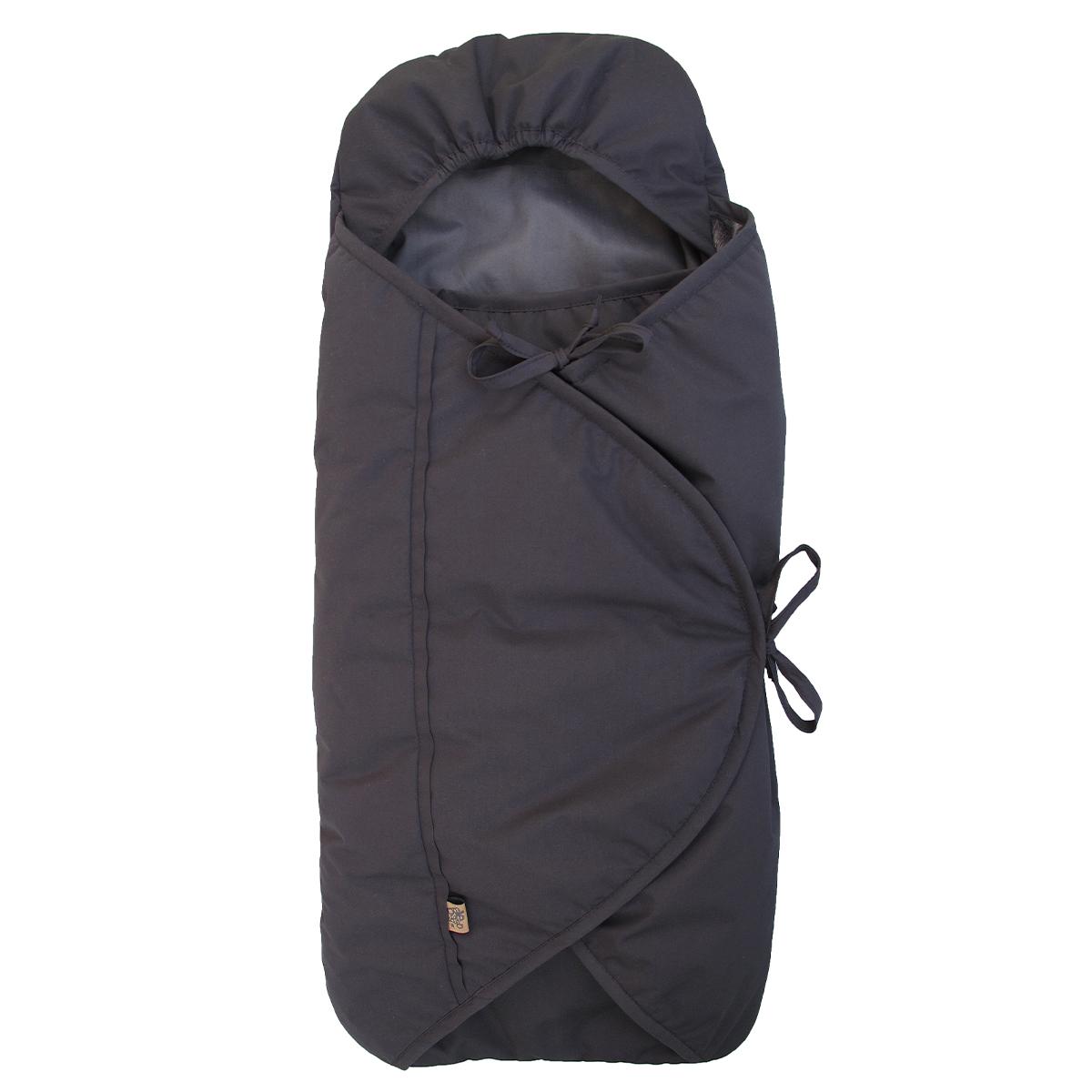 Image of   Sleepbag kørepose til autostolen - Bycar - Sort/grå