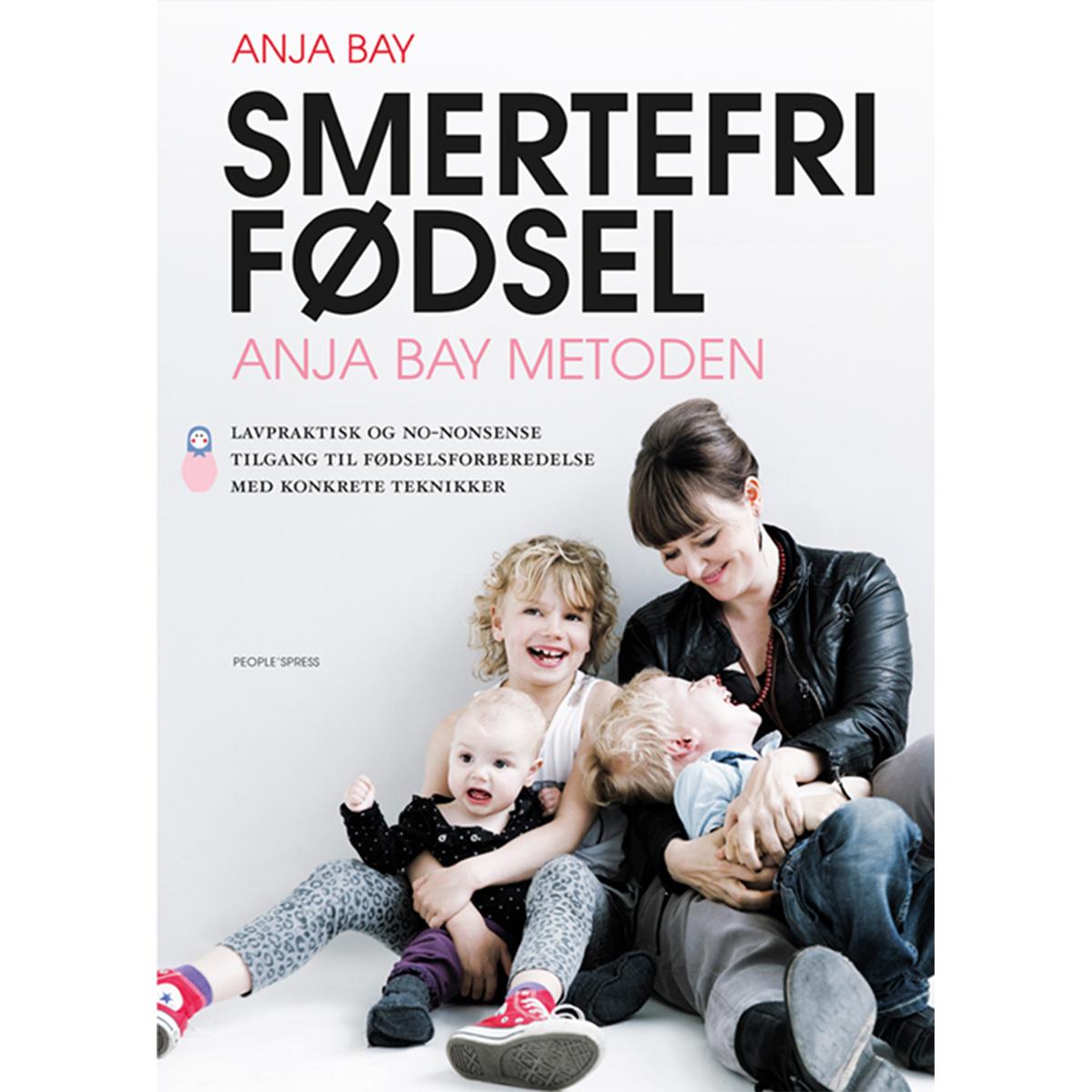 Image of   Smertefri fødsel - Anja Bay metoden - Hæftet