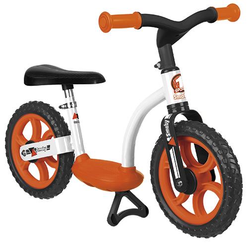 """Billede af Smoby 10"""" løbecykel - Orange/sort"""