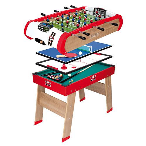 Billede af Smoby 4-i-1 bordspil