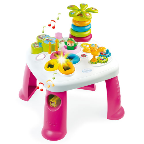 Image of   Smoby aktivitetsbord - Cotoons Activity table - Pink