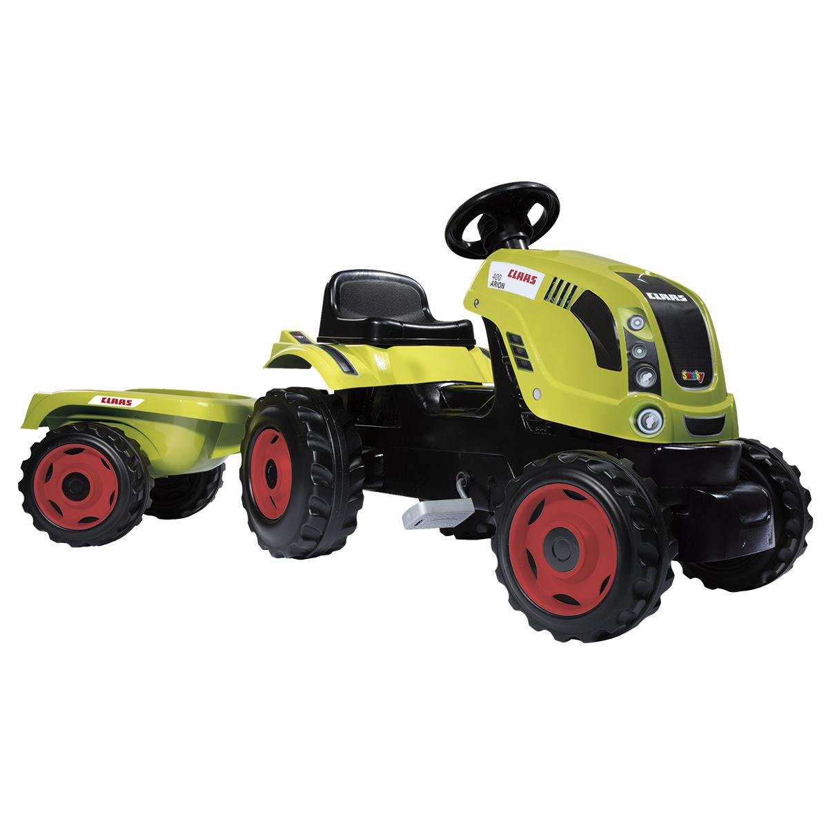 Billede af Smoby Claas traktor med anhænger