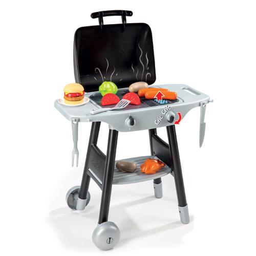 Image of   Smoby grill med burger og pølser