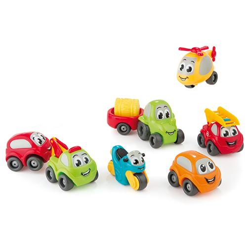 Billede af Smoby legetøjsbiler - 7 stk.