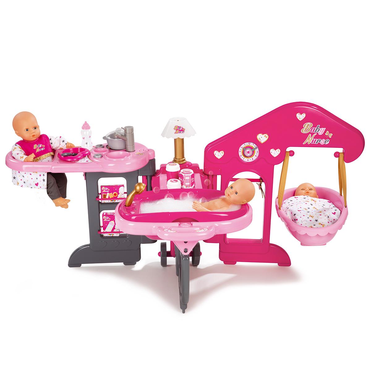 Billede af Smoby plejestation til dukker - Baby Nurse Baby House