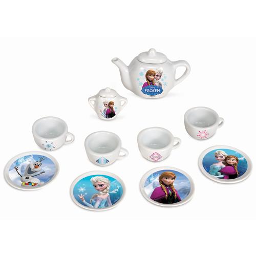 Billede af Smoby testel i porcelæn med motiver fra Disney Frozen