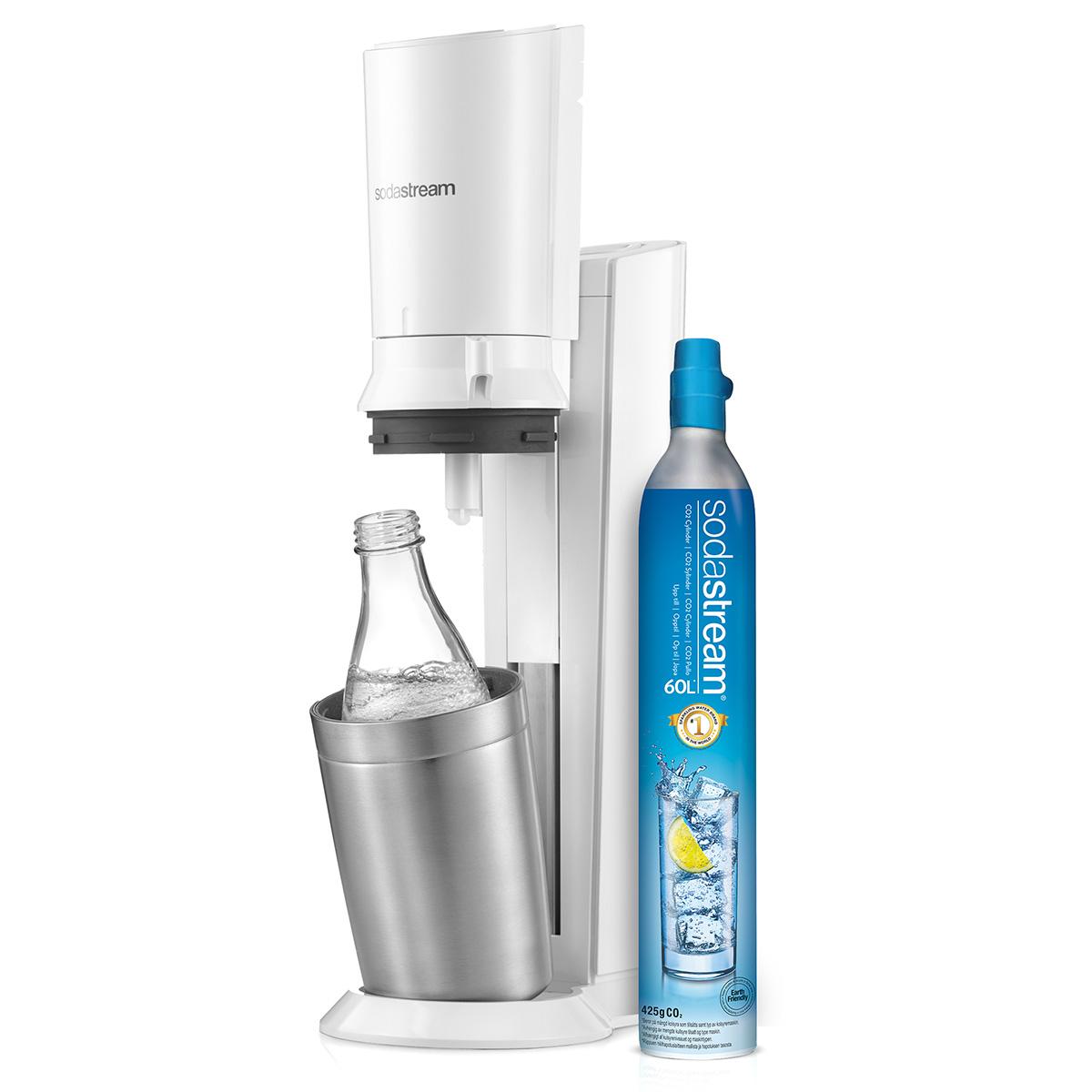 SodaStream sodavandsmaskine - Crystal - Metal White