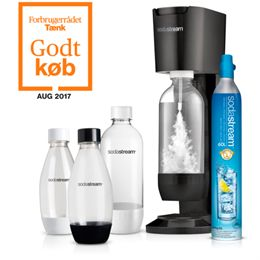 Sodastream sodavandsmaskine - Genesis Mega Pack -  Metallic Black