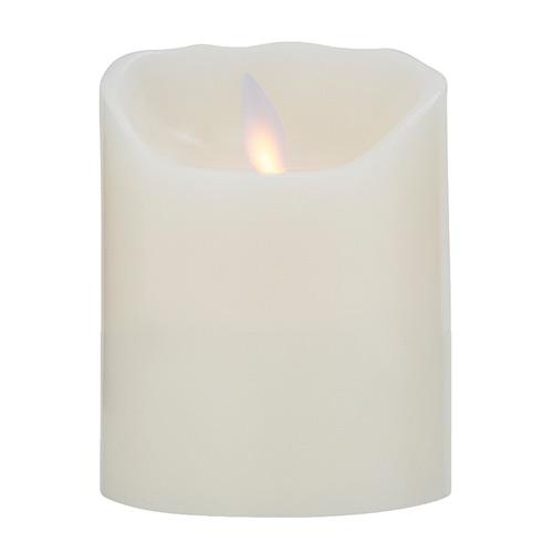 Image of   Sompex LED-stearinlys - LeveLys - Creme - H 10 cm