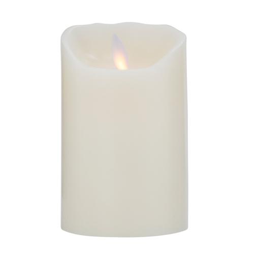 Image of   Flame LED-lys af rigtigt voks, 12,5 cm
