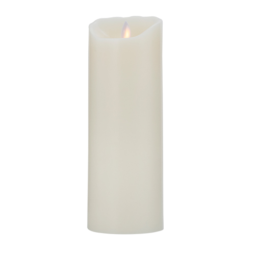 Image of   Sompex LED-stearinlys - LeveLys - Creme - H 23 cm