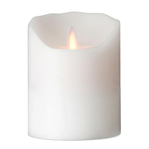 Image of   Sompex LED-stearinlys - LeveLys - Hvid - H 12 cm