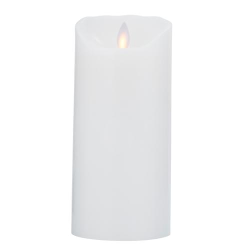 Image of   Sompex LED-stearinlys - LeveLys - Hvid - H 18 cm