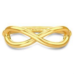 Billede af Spinning Jewelry ring - Aura Eternity - Forgyldt sterlingsølv