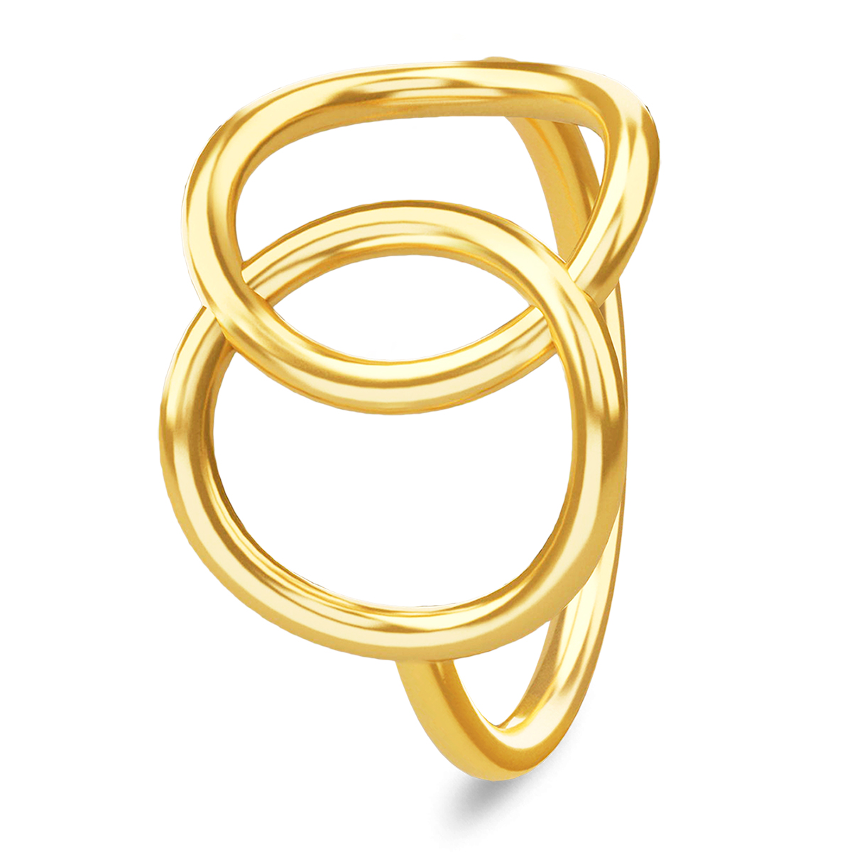 Image of   Spinning Jewelry ring - Compassion - Forgyldt sterlingsølv