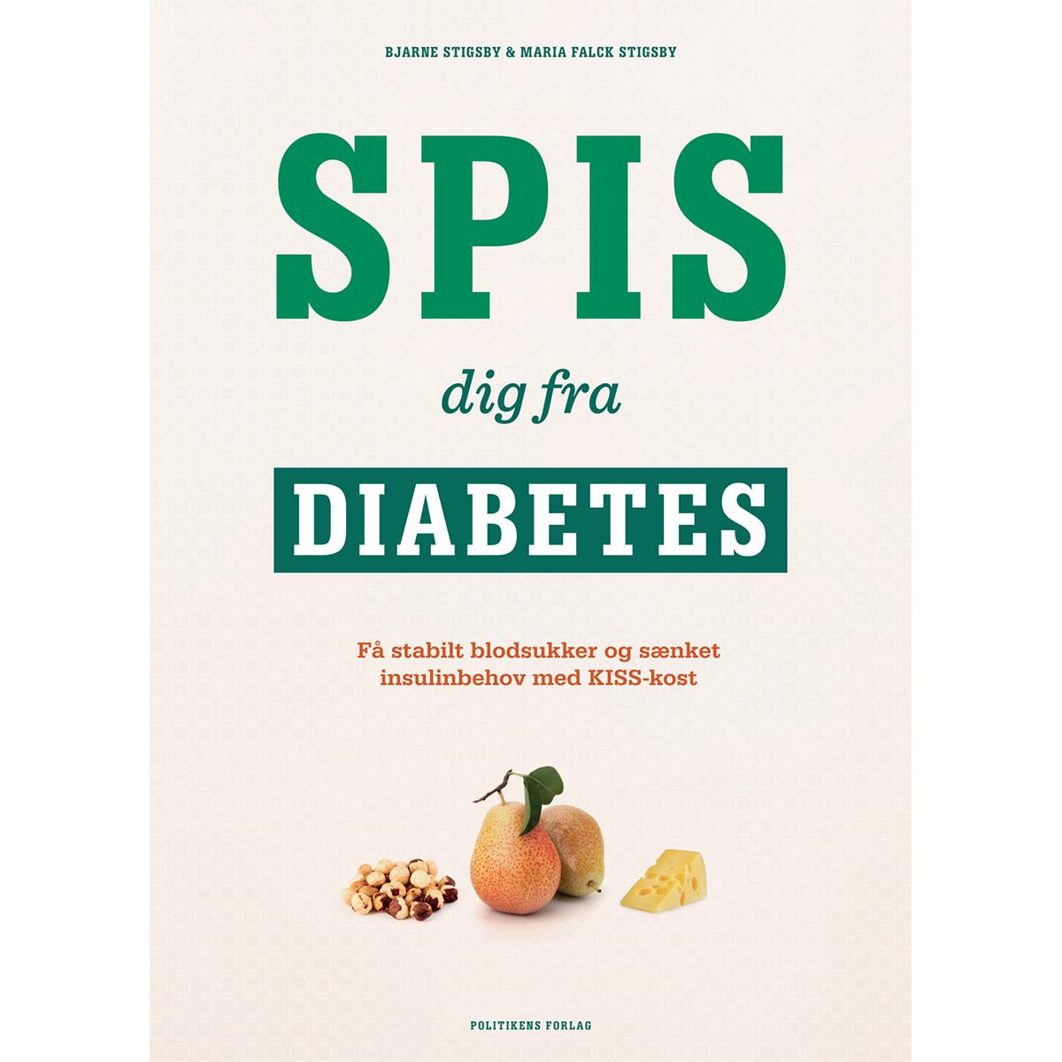 Image of   Spis dig fra diabetes - Indbundet