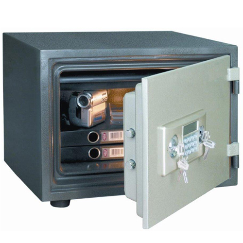 Image of   Staco brandsikret værdiskab med elektronisk lås.