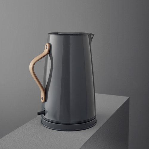 Groovy Stelton elkedel - Emma - Grå 1,2 liter - Coop.dk QF35