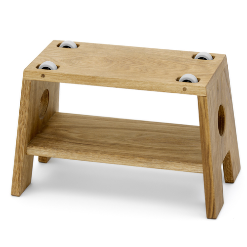 Børneskammel stool fra collect furniture - natur olieret Änglamark-certificeret